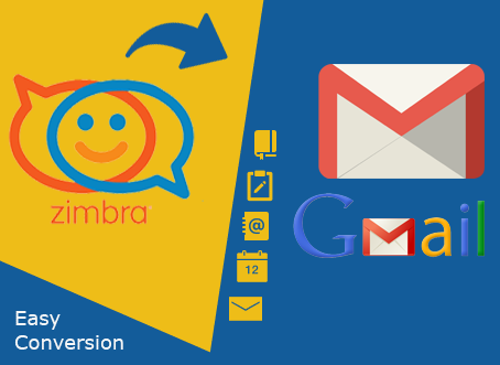 Zimbra to Gmail Converter